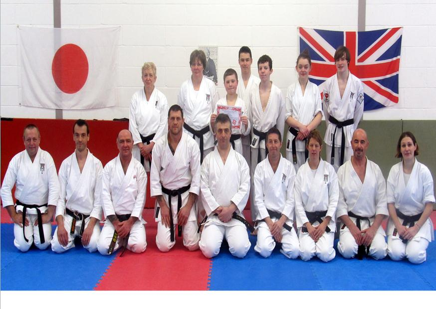 Karate Academy Black Belts